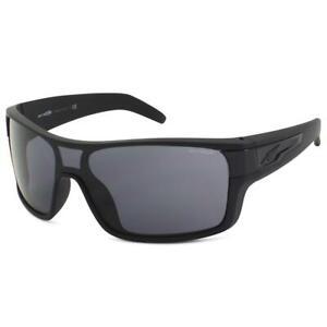 Arnette AN 4186-03 447/87 Shore House Rubber Black Grey Lens Mens Sunglasses