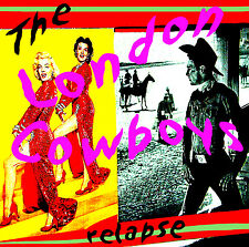 LONDON COWBOYS 'Relapse' 2CD anthology Idols Johnny Thunders New York Dolls new