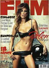 FHM August/08/2011  Supermodel - BELEN RODRIGUEZ