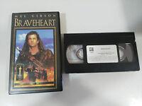 BRAVEHEART CINTA TAPE VHS COLECCIONISTA MEL GIBSON JAMES HORNER
