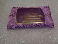 tarte Fresh Eyes Maracuja Waterproof Eye Makeup Remover Wipes 10 Count New