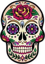 Azúcar Calavera Vinilo Pegatina Calcomanía español de México día de los muertos Diversión marca Sexy4
