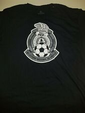 New Men's Adidas Mexico Big Crest Soccer Go-To Tee Style FU0317 Size Large