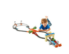 Fisher Thomas & Friends Trackmaster Thomas and Percy's Railway Race Train Set