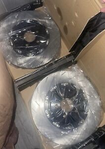 2015-2021 Dodge Charger/Challenger Hellcat/Scatpack FRONT L&R SLOTTED 2PC Rotors
