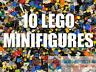 ⭐️ LEGO MINIFIGURES - 10 GENUINE LEGO MINIFIGURES - MIXED, JOB LOT, BULK ⭐️
