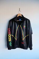 Rare Adidas Chile 62' Tracksuit jacket | M | Black trefoil wetlook Originals
