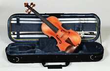Heartland 4/4 Premium  Solid Flame Maple Violin, Solid Maple Violin Professional