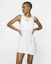 Nike Court Dri-Fit Maria Sharapova Tennis Dress AO0360-100 White; Size Medium