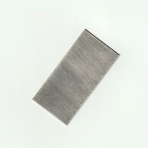 Pure Nickel Plate Anode 999 Bright Electroplating Sheet 0.8 x 50 x 100 mm