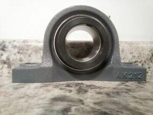 Dayton 3FCU6 2-7/16 In Bore Dia Cast Iron Pillow Block Bearing