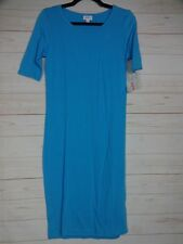 Lularoe Women's Julia Dress Blue Size Small NWT - A2549