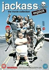 Jackass The Movie Collection 5014437187635 DVD Region 2 P H