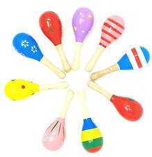 Babyrassel aus Holz Greifling für Babys Holzrassel in verschiedenen Farben