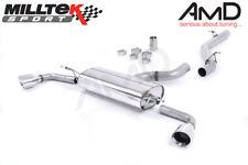 Milltek Audi TT Mk2 3.2 Quattro Cat Back Exhaust Non Resonated SSXAU257