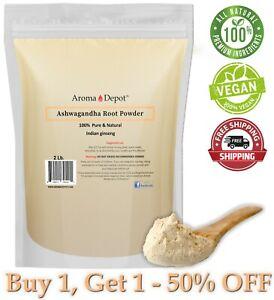 2lb Ashwagandha Root Powder Withania comnifera Indian gindeng aswaganda 2 Libras