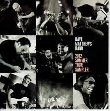 DAVE MATTHEWS BAND *  Summer Tour 2012 Sampler * Red Edition * Sealed !