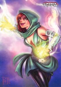 ENCHANTRESS / DC Comics The Women of Legend BASE Trading Card #15