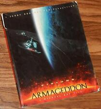 VISIONS OF ARMAGEDDON a film SIGNED by MICHAEL BAY & JERRY BRUCKHEIMER 1998 PB