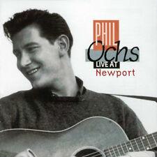 PHIL OCHS - LIVE AT NEWPORT (1963) CD VANGUARD VINTAGE POLITICAL FOLK