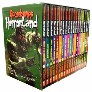 Goosebumps Horrorland Series 18 Books Children Collection Paperback By-R.L Stine