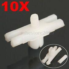 10pcs Side Door Trim Moulding Strip Plastic Clips For VW GOLF MK1 Jetta Beetle