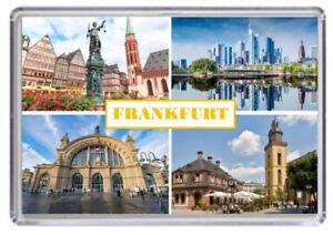 Frankfurt Germany Fridge Magnet 02