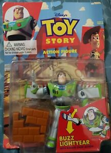 Disney Pixar Toy Story 1 Buzz Lightyear Action Figure 1995 Thinkway New In Box!