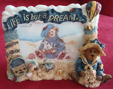Boyd's Bears & Friends-Wilson,Life is But a Dream(Shaboom Shaboom) Picture Frame