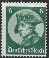 Stamp Germany Mi 479 Sc 398 1933 3d Reich War Potsdam Great Friedrich Prussia MH