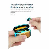 Bluetooth earbuds waterproof TWS noise canceling 5.0 2020 wireless headset
