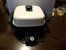 """Presto Electric Skillet # 0661743, 11"""" inches, works great."""