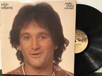 Robin Williams – Reality... What A Concept LP 1979 Casablanca – NBLP 7162 VG+