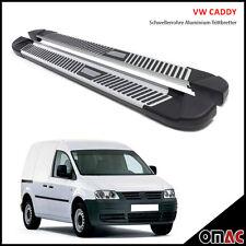 VW Caddy ab 2004 Aluminium Trittbretter Pyramid (193)