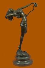 Hot Cast Bronze Nude Lady Figurine Harriet W. Frishmuth Home Decoration Decor