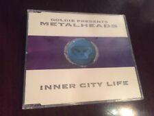 Goldie Presents Metalheads – Inner City Life UK Import CD 1994 ffrr Drum N Bass
