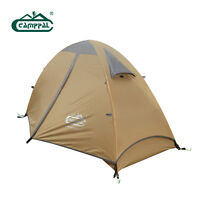 Lightweight four seasons mountaineering tent for one single person from Camppal