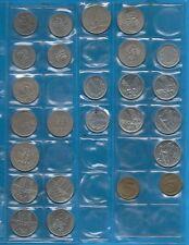 Pologne Lot 25 Pièces en métal commun, années diverses