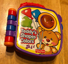 FISHER PRICE Laugh & Learn TEDDY'S SHAPES & COLORS Electronic Book