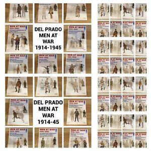 DEL PRADO Men At War Lead Figures Choose & Select Multi Buy Discount Up To 20%