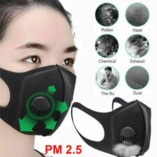 Air Purifying Face Mask Cover Anti Dust Multi Layer Mouth Filter Masks New