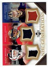 Brodeur & Luongo & Lehtonen 2005-06 Upper Deck NHL Generations #TBLL