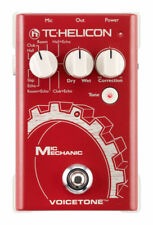 TC-Helicon VoiceTone Mic Mechanic Vocal Reverb/echo & Pitch Correction Pedal