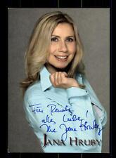 Jana Hruby Autogrammkarte Original Signiert ## BC 75472