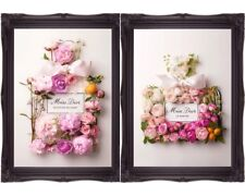 Miss Dior Blooming Bouquet Perfume Art Poster Prints Floral Wall Art Unframed