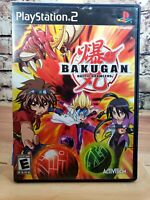 PlayStation2 : Bakugan battle brawlers ps2 complete