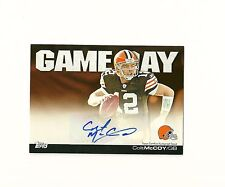 2011 Topps Game Day Autographs #GDACM Colt McCoy Auto Browns Texas Longhorns