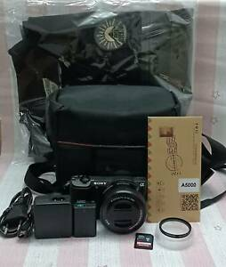 Sony Alpha a5100 Mirrorless Digital Camera with 16-55mm Lens 24.3 MP free Jacket