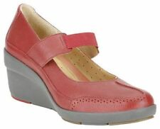 Wedge Composition Leather Standard Width (D) Heels for Women