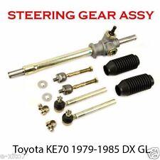 New Toyota Corolla KE70 TE70 79-85 RHD Non Power Steering Rack Pinion & Tie Rods